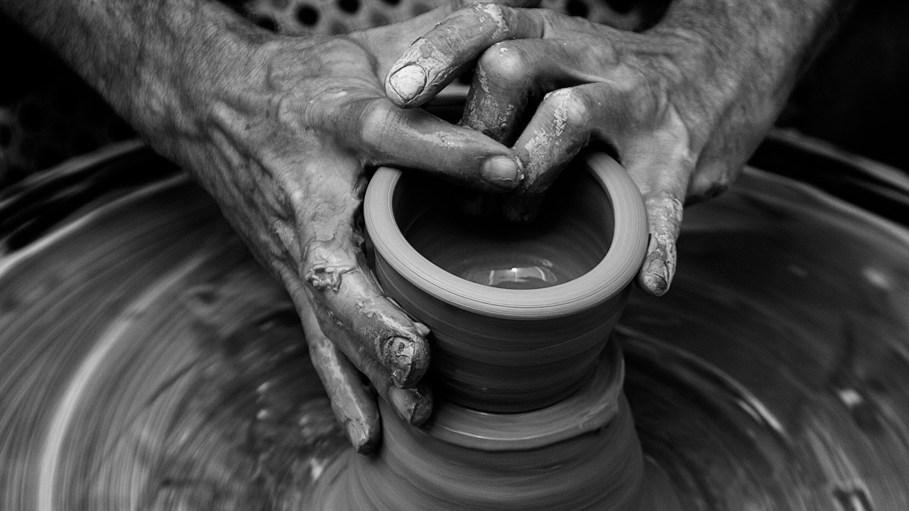 Hands in Clay