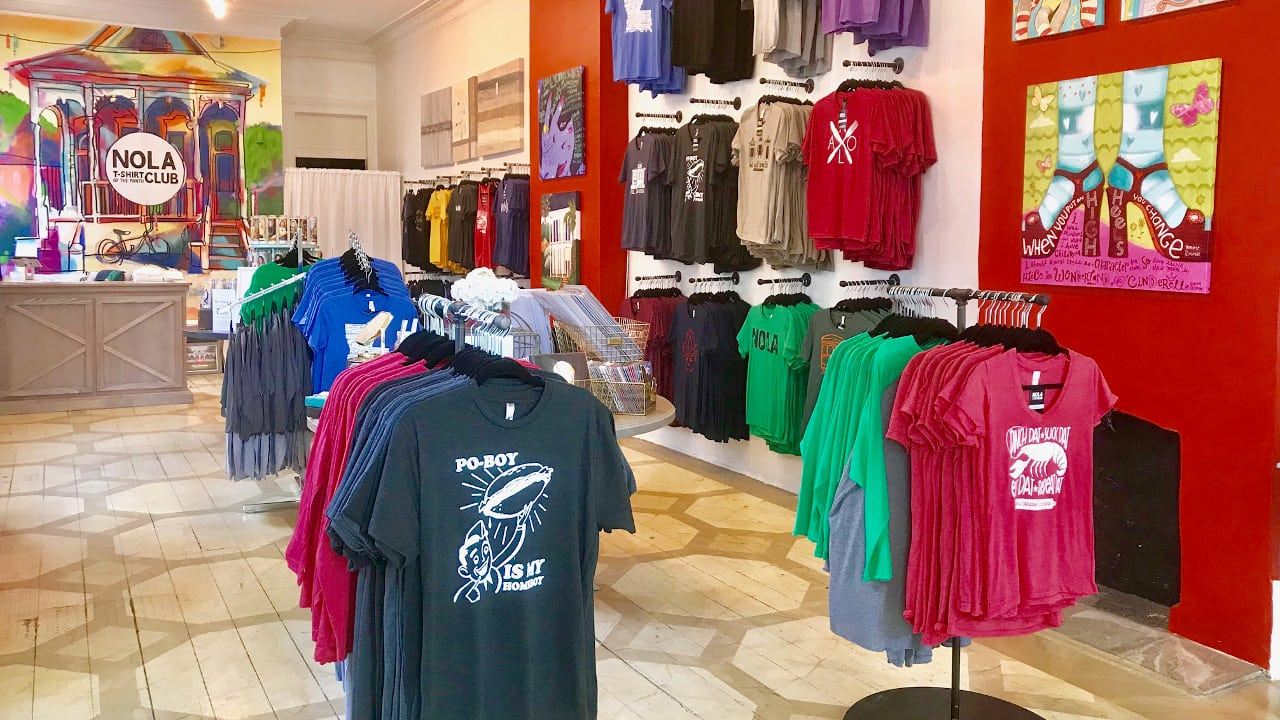 d404cd842 NOLA T-Shirt of the Month Club. 3646 Magazine Street New Orleans ...
